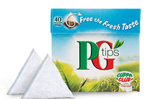 We love PG Tips!