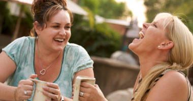 Laughing women